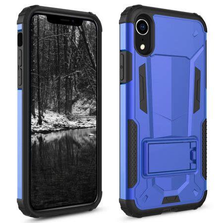 zizo zv hybrid transformer series iphone xr blue black