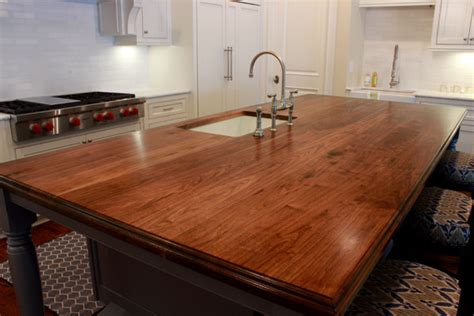 Wood Tops For Kitchen Islands by Wooden Kitchen Island Top Traditional Kitchen Other