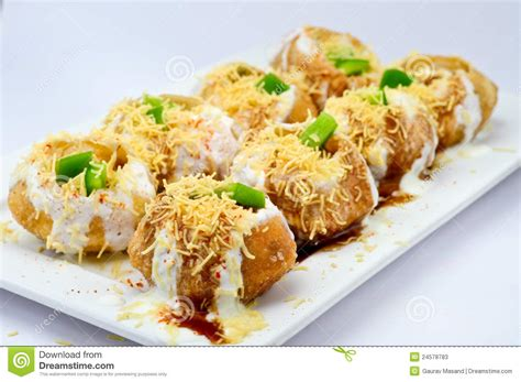Free Kitchen Design Program Dahi Puri Stock Photos Image 24578783