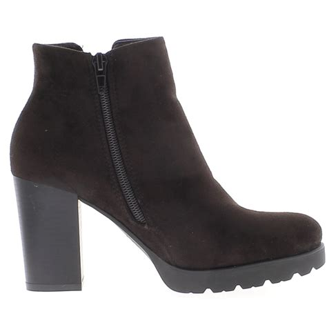 brown boots doubled to heel with platform and cleats 8 5