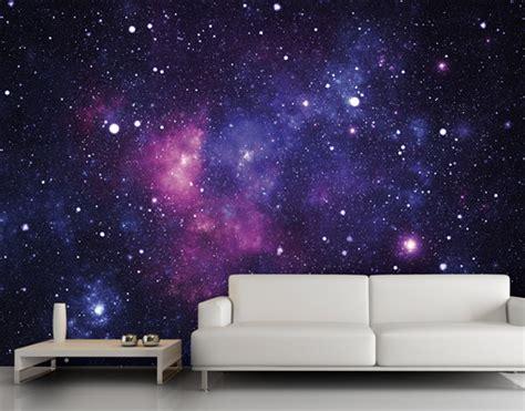 wall murals space photo wall mural galaxy 400x280 wallpaper wall decor universe space violet ebay