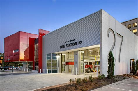 fire house design style has substance at dallas new fire stations