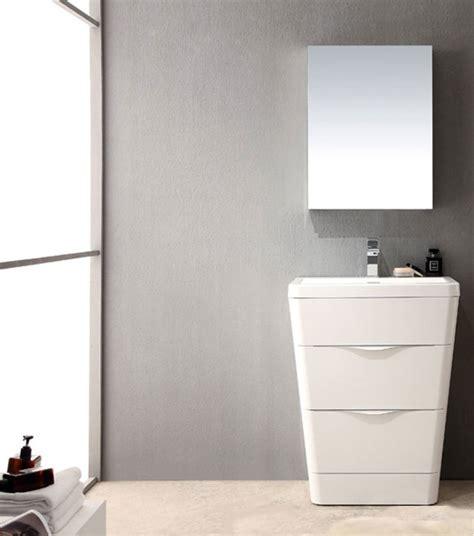 25 Inch Bathroom Vanity by Acqua 25 Inch Modern Bathroom Vanity White Finish