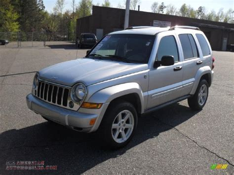silver jeep liberty 2006 jeep liberty limited 4x4 in bright silver metallic