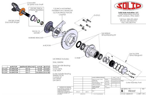 60 front axle diagram 60 front axle parts diagram automotive parts