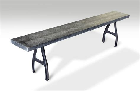 cast iron legs for bench galvanized steel top bench with industrial cast iron legs