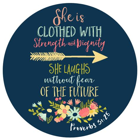 Custom Proverbs 31:25 Vinyl Decal for your car window   Boutique Me