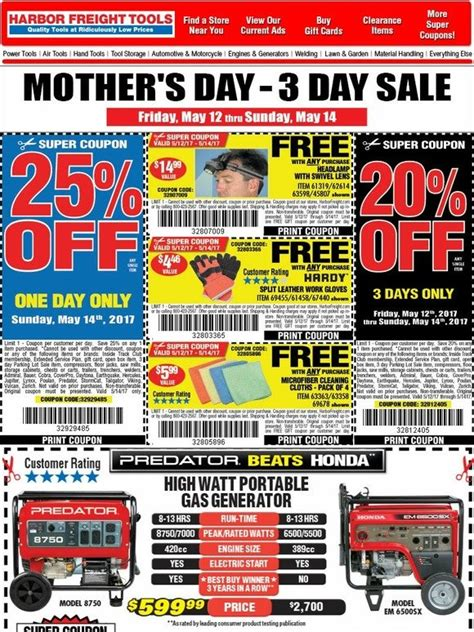 Buy Harbor Freight Gift Cards - harbor freight free gifts for mom milled