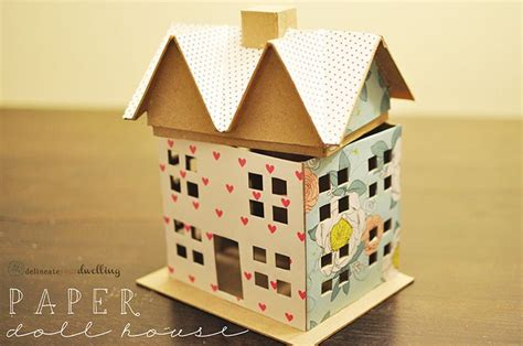 How To Make A Paper Doll House - best 25 paper doll house ideas on cut paper