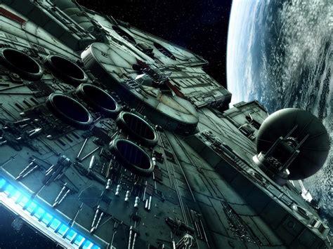 star wars millenium falcon spaceship hd wallpapers