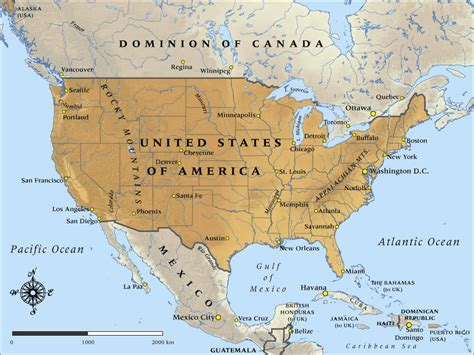 usa and mexico map map of the united states