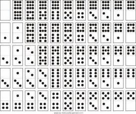 domino et calendrier tarogramme