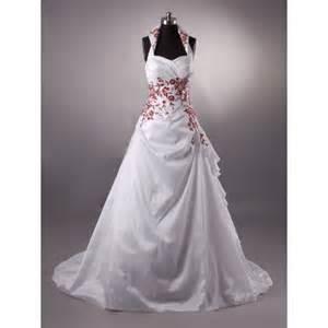 beautiful white wedding dresses beautiful appliques halter satin brush white wedding