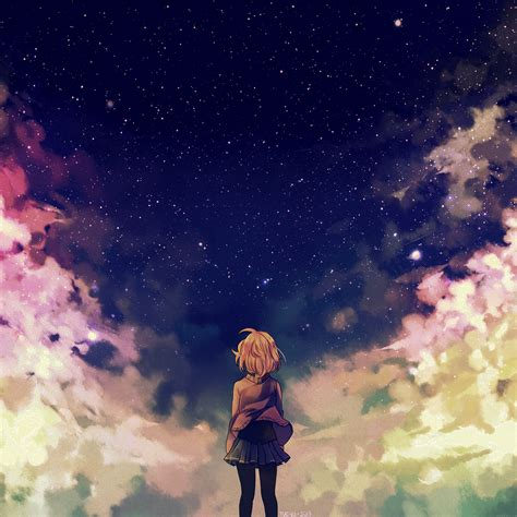 anime girl ipad wallpaper parallax