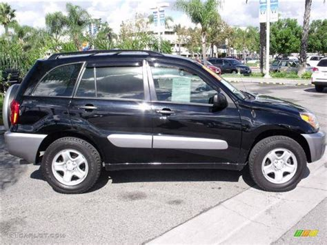 Toyota Rav4 2004 Black 2004 Toyota Rav4 Standard Rav4 Model Exterior Photo