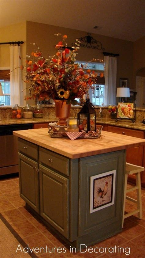 kitchen island centerpiece ideas 38 best fall kitchen decor ideas images on pinterest