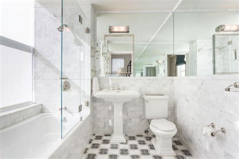 renovated bathroom ideas how to choose tile for a small bathroom