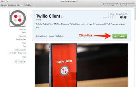xamarin components tutorial twilio client for xamarin part 1 introduction 推酷