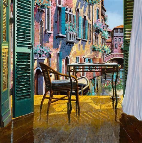 soggiorno a venezia un soggiorno a venezia painting by guido borelli