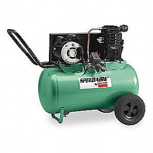 speedaire  hp  portable electric air compressor