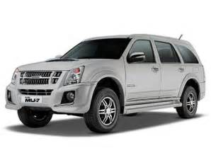 Isuzu Mu 7 Mileage Isuzu Mu 7 Price In India Images Specifications Colors