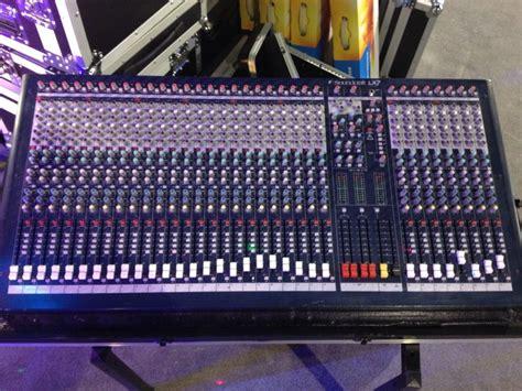 Audio Mixer Soundcraft Lx7ii soundcraft lx7ii 32 image 580658 audiofanzine