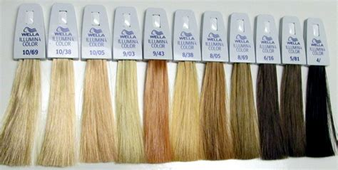 wella illumina color chart wella s illumina hair color works in a different method