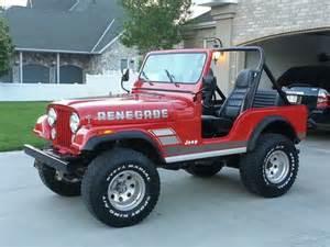 Used Jeep Cj5 Purchase Used 1983 Jeep Cj5 Renegade In Draper Utah