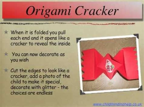 Origami Crackers - https devicesupport akc