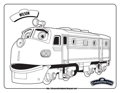 Chuggington 1 Free Disney Coloring Sheets Team Colors Chuggington Coloring Pages