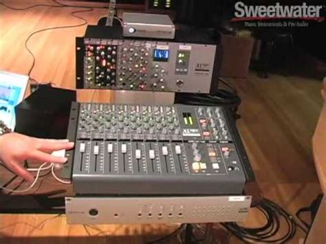 ssl x desk and madi xtreme overview sweetwater youtube