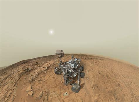 designboom nasa nasa s mars curiosity rover self portrait panorama