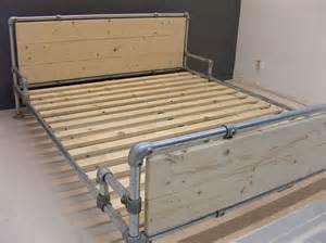 Beds With Footboards Bed Made With Kee Klamp Pipe Fittings Beds Made With