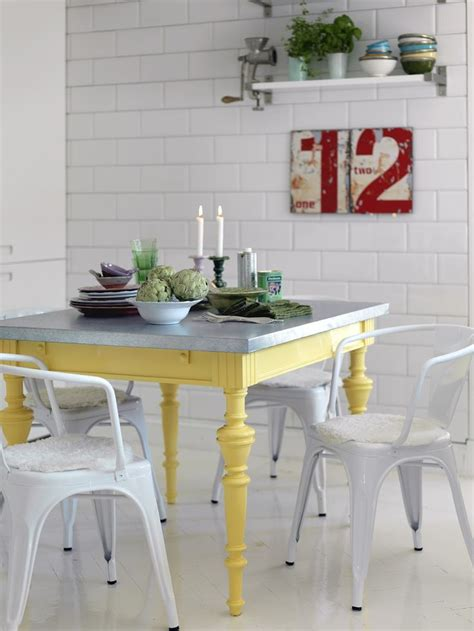 Yellow Dining Room Table Best 25 Yellow Table Ideas On Mustard Yellow Decor Yellow Dining Room Furniture