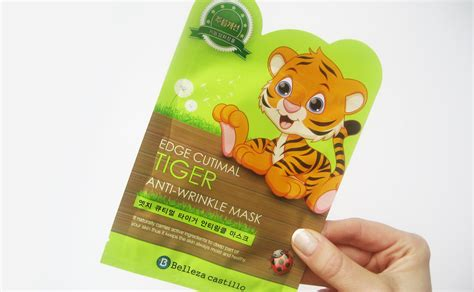 Belleza Skin Care review belleza castillo edge cutimal mask tiger anti