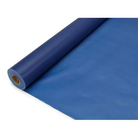 Plastic Table Cover Rolls by Navy Blue Plastic Roll Table Cover 40 Inches X 100