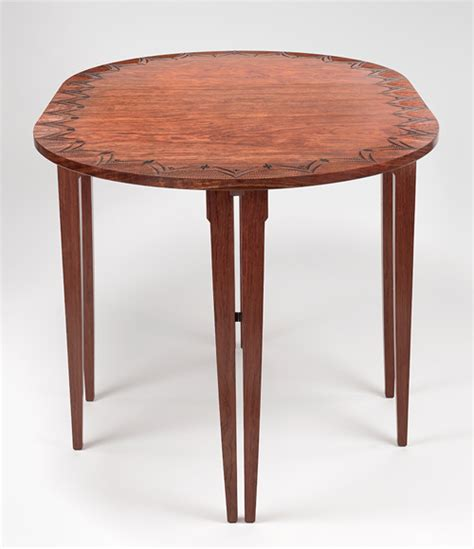 swing leg table on view at pritam eames the gallery of original furniture