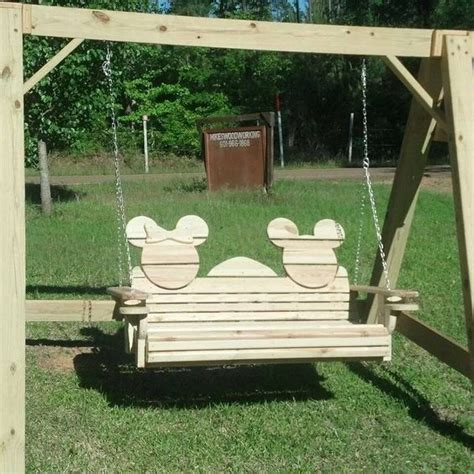 minnie mouse glider swing mickey swing for two mikey and minies cake ideas