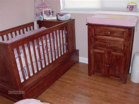 Crib Changing Table Woodwork By Woodbeck Changing Table And Crib