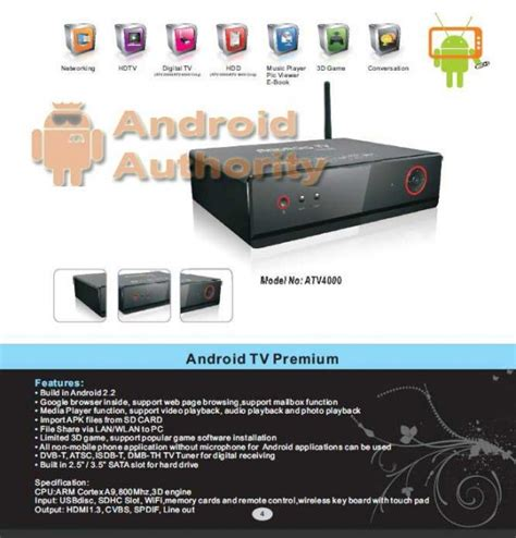 Android Tv Out android tv set top box android authority