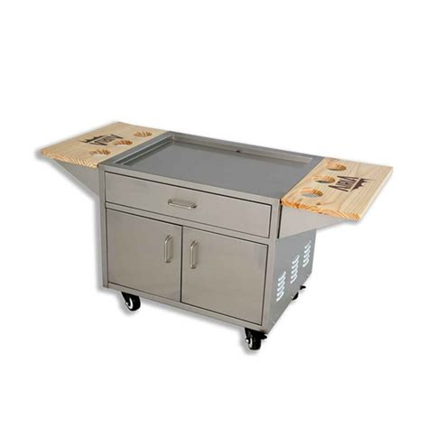 airia stainless steel patio cooler cart 50 quart a0044 ebay
