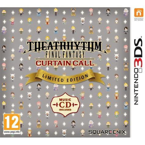 curtain call meaning pre order theatrhythm final fantasy curtain call limited