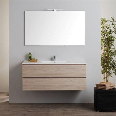 mobile bagno 120 cm mobile bagno sospeso 120 cm con lavabo e specchio kv store