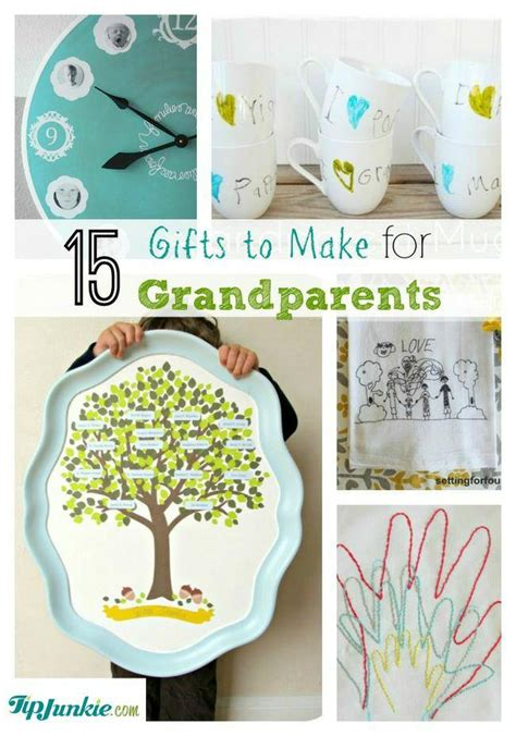 Handmade Gifts For Grandparents - 15 thoughtful gifts to make for grandparents tip junkie