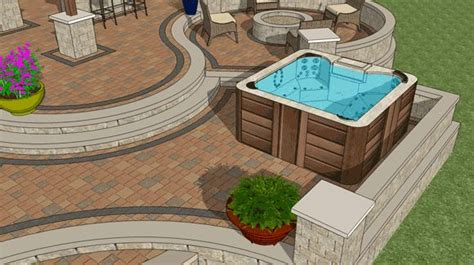 Patio Design Tub Pit Pin By Melanie Dolezel On For The Home