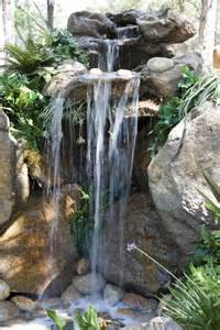 Small Garden Waterfall Ideas 50 Pictures Of Backyard Garden Waterfalls Ideas Designs