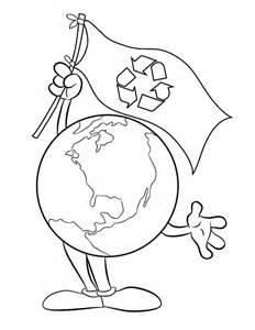 recycling coloring pages az coloring pages