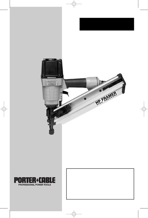 Porter Cable Nail Gun Fcp350 User Guide Manualsonline Com