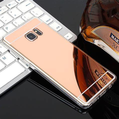 Softcase Plus Mirror Samsung J7 luxury plating mirror for samsung galaxy s7 silicon s6 edge s5 s8 plus soft for