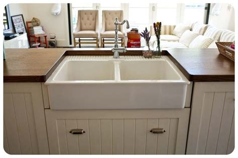 apron kitchen sink ikea undermounting ikea s farmhouse sink kitchen butcher blocks apron sink and the o